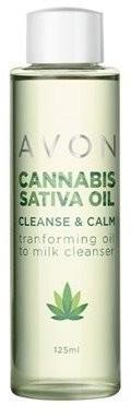 Avon Cannabis Sativa Oil Lekki olejek do oczyszczania twarzy 125ml 49727-uniw