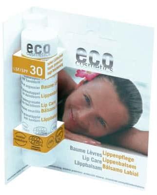Eco Cosmetics Balsam do ust faktor SPF30 4g
