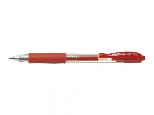 PILOT Długopis żelowy BL-G2-5 R czerwony 12szt)