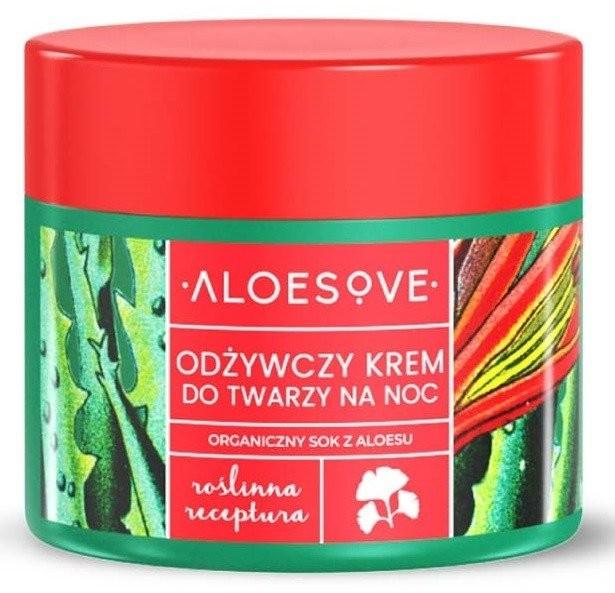 Sylveco Aloesove Krem odżywczy na noc 50ml 36470-uniw