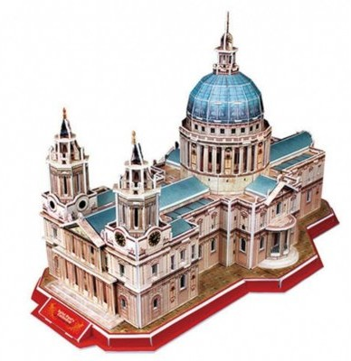 Cubicfun PUZZLE 3D Katedra Św. Pawła 491987