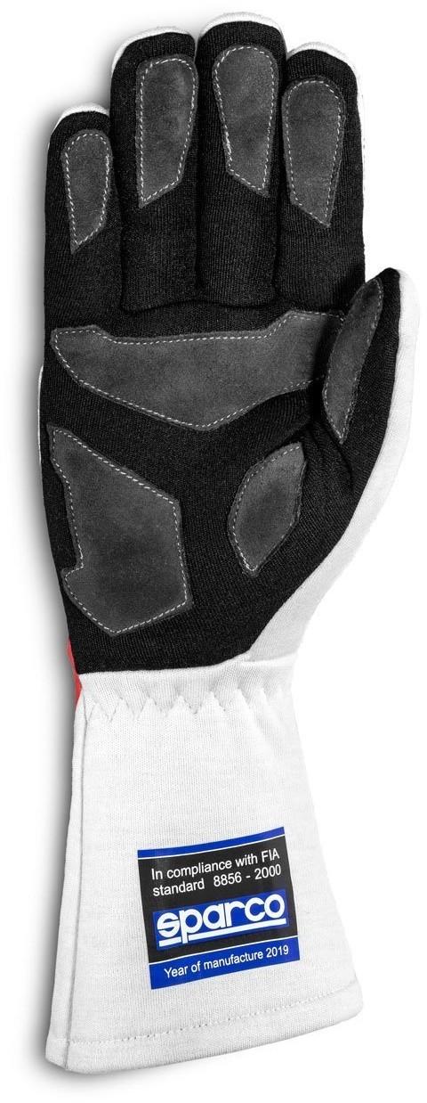 Sparco Rękawice rajdowe LAND CLASSIC MY20 białe (homologacja FIA) 00135809ECRS
