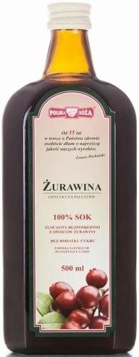 Polska Róża 137Polska Róża Sok z Owoców Żurawiny 500ml - PLRSOKŻURA500