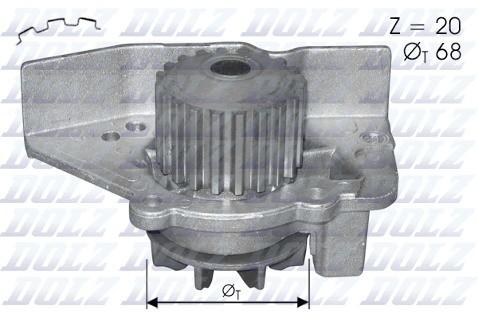 Dolz INDUSTRIAS Pompa wodna INDUSTRIAS C118