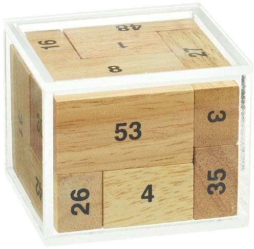 Philos Spiele Philos 6276100ER skrzynka puzzle, kostki, 9części, knobel zabawka