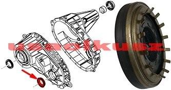 PRECISION Uszczelniacz przedniego wału reduktora NP246 Dodge Ram 1500 2006-2011