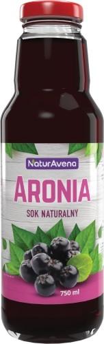 NaturAvena Sok z aronii 100% 750ml -