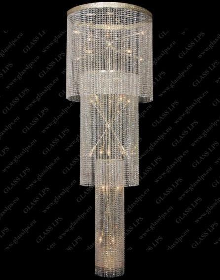 Glass LPS L15 544/21/6; F 3 floor - kryształowy żyrandol/lampa wisząca - negocjuj cenę! L15 544/21/6; F 3 floor