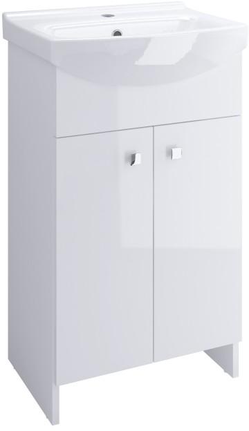 Cersanit Zestaw umywalkowy Sati 60 cm biały