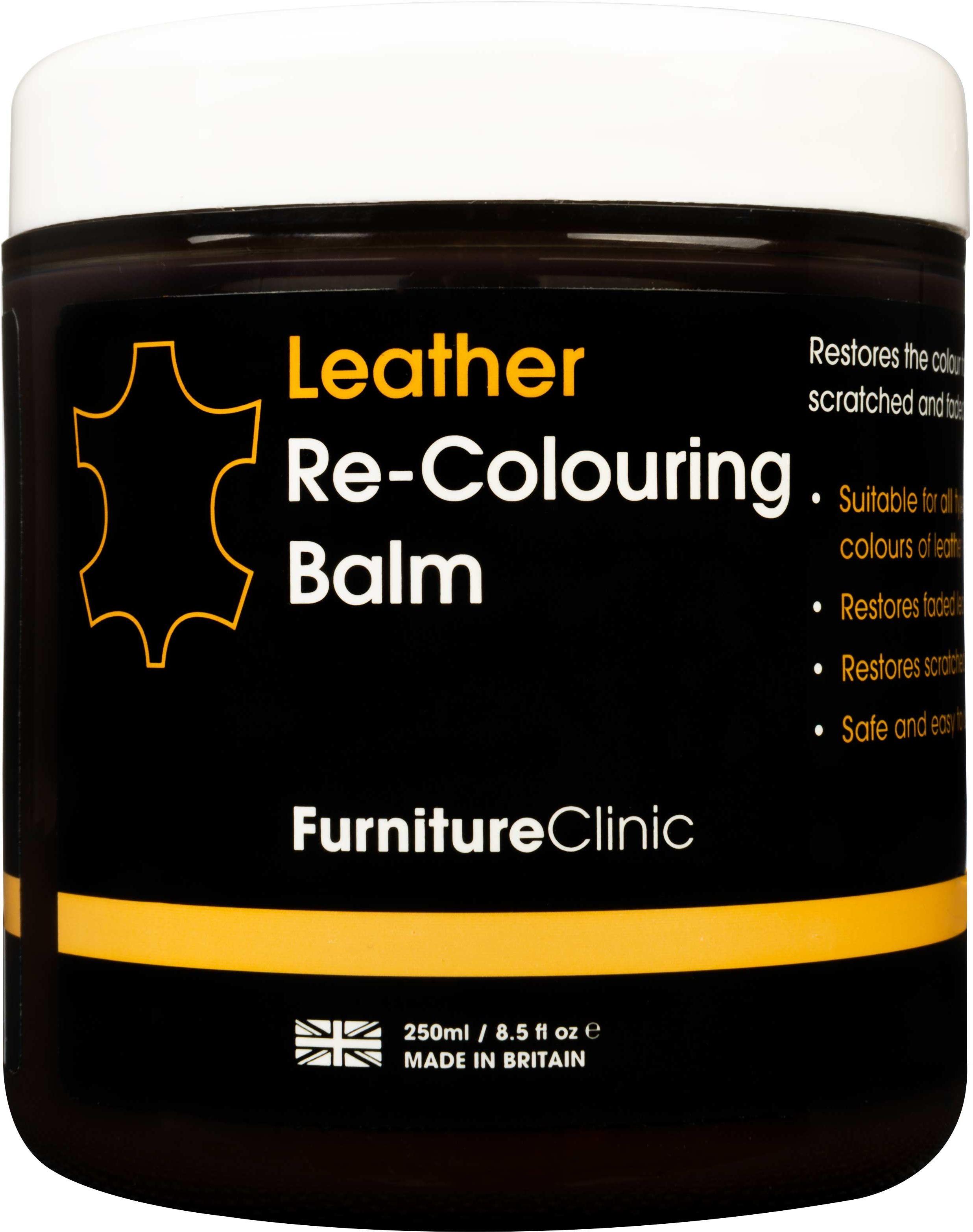 Furniture Clinic Leather Re-Colouring Balm balsam koloryzujący DARK BROWN 250ml FUR000010