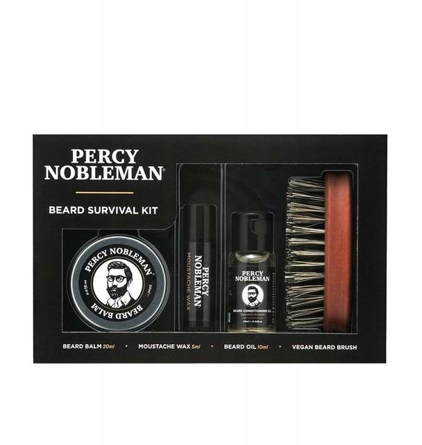 Percy Nobleman Zestaw do brody Beard Survival Kit