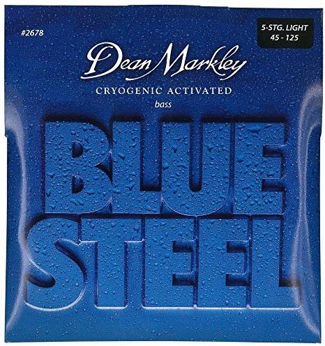 Dean Markley 2678 Blue Steel 5 strun do gitar basowych, grubość LT .045-.125 DM2678