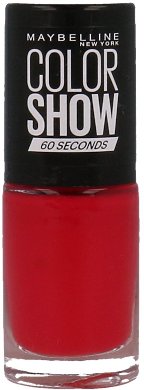 Maybelline Color Show Seria 60 Seconds Lakier Do Paznokci 435 Paprika Pop 30116719