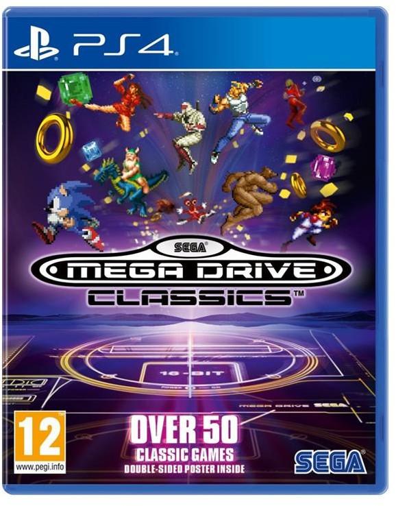 Sega MegaDrive Classics (GRA PS4)