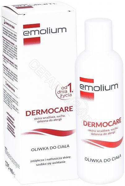 Emolium DERMOCARE Oliwka do ciała 175 ml 7072849
