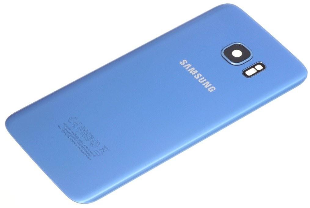 Samsung KLAPKA BATERII GALAXY S7 EDGE ORYGINALNA GRADE B CORAL BLUE 34830-uniw