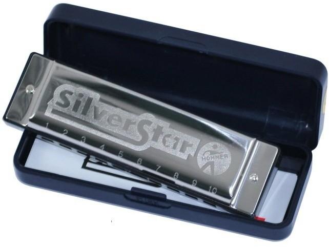 Hohner Harmonijka ustna Silver Star - tonacja D