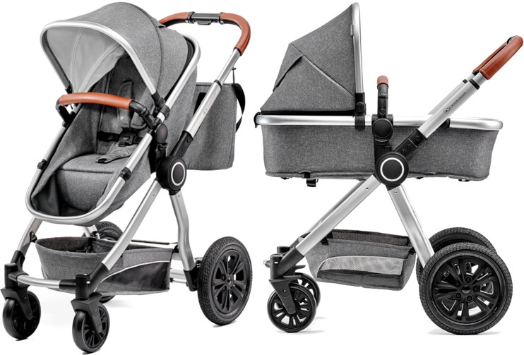 KinderKraft Veo 2w1 Grey