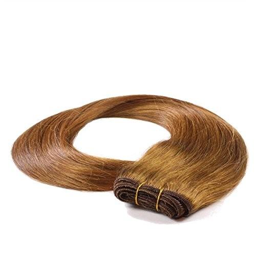 hair2heart prawdziwe włosy-oplocie, Weft 60cm/do Weaving metoda prawdziwych, microring lub klip w rozszerzeniach/zagęszczanie włosów/przedłużenie włosów w najwyższa jakość/gładka strukturawiele ko
