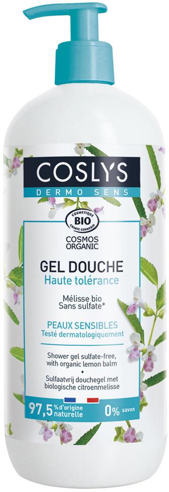 Coslys Dermosens, Żel pod prysznic z organiczną melisą, 950 ml 3538396133400