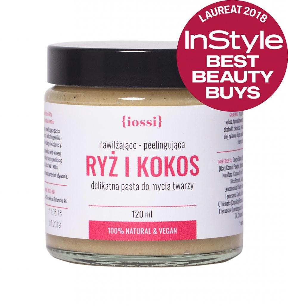 Iossi Iossi, pasta do mycia twarzy Ryż i Kokos, 120 ml