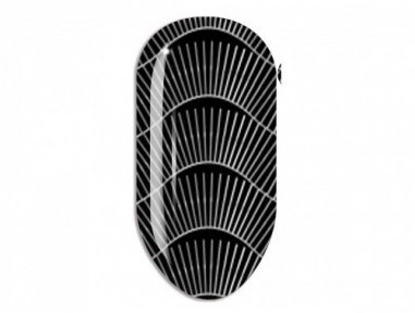 Nail Art Mollon Pro Stikers Mollon Pro F078S naklejki do zdobienia