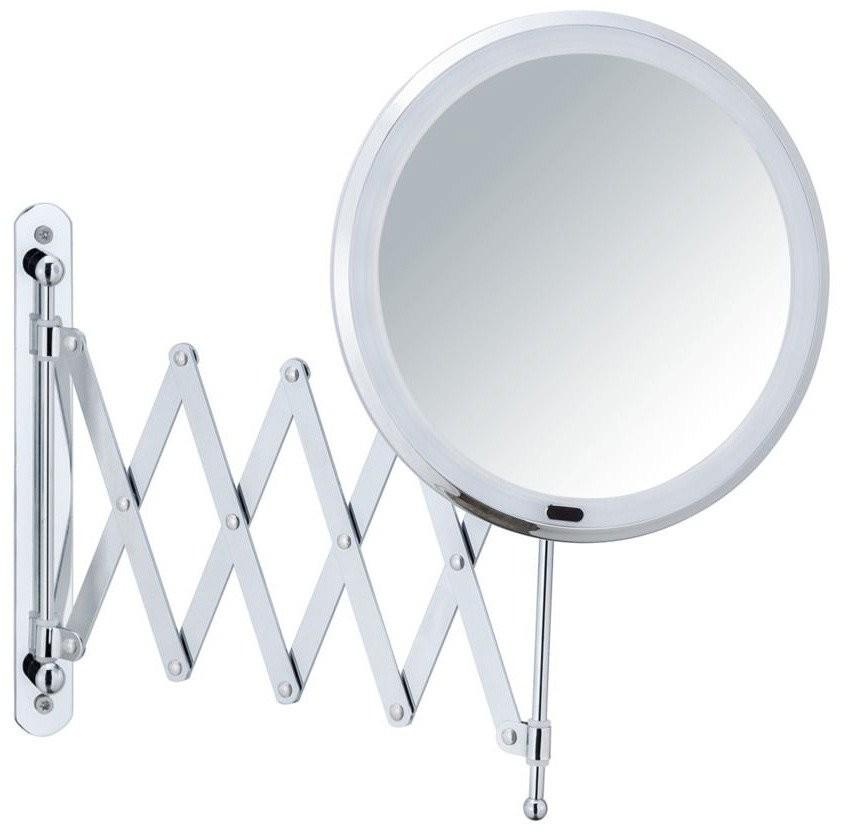 WENKO Teleskopowe lusterko kosmetyczne BARONA z podświetleniem 24102100