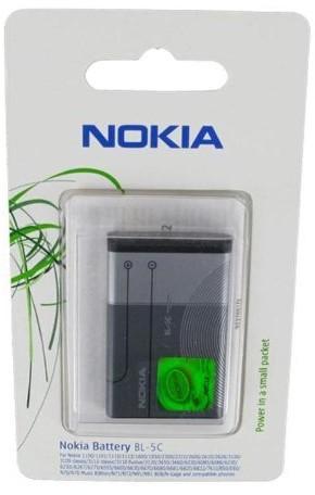 Microsoft 0278812akumulator litowo-jonowy Nokia BL-5°C (1020mAh) 0278812