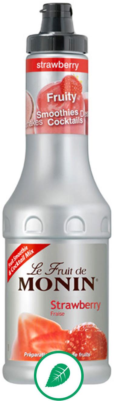 Monin PUREE STRAWBERRY - PUREE TRUSKAWKOWE 0,5LTR