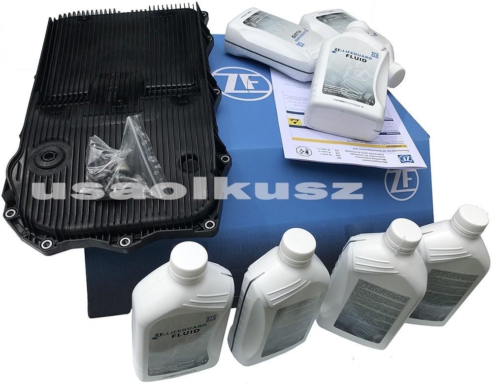 ZF Filtr oraz olej skrzyni 8 Speed ZF 8HP45 Dodge Charger RWD 3,6 V6 2015 1087.298.360