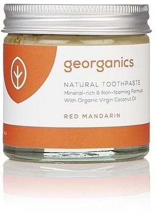 Georganics Georganics, mineralna pasta do zębów w słoiku Red Mandarin, 60 ml