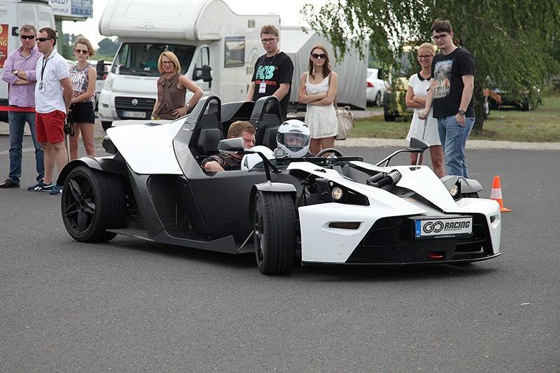go racing Jazda KTM X-BOW : Ilość okrążeń - 1, Tor - Tor Olsztyn, Usiądziesz jako - Pasażer