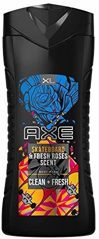 Axe Bodywash Skateboard & Fresh Roses XL dla mężczyzn bez parabenów, 400 ml 8720181000645