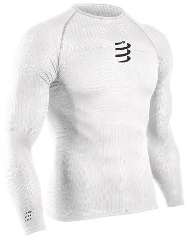 CompresSport koszulka termiczna 3D THERMO 50G LS TSHIRT biała
