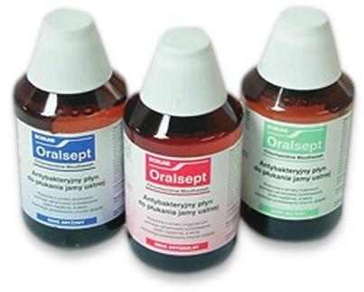 Ecolab ORALSEPT orginal antybakteryjny płyn do płukania jamy ustnej, 300 ml 1188-uniw