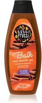 Farmona Farmona Tutti Frutti Caramel & Cinnamon żel do kąpieli i pod prysznic 425 ml
