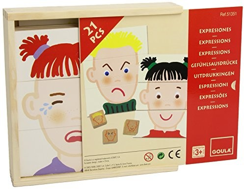 Jumbo gier d51351 uczucie wyrażenia, zabawka edukacyjna