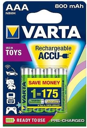 Varta Ready2use R03/AAA Ni-MH 800mAh