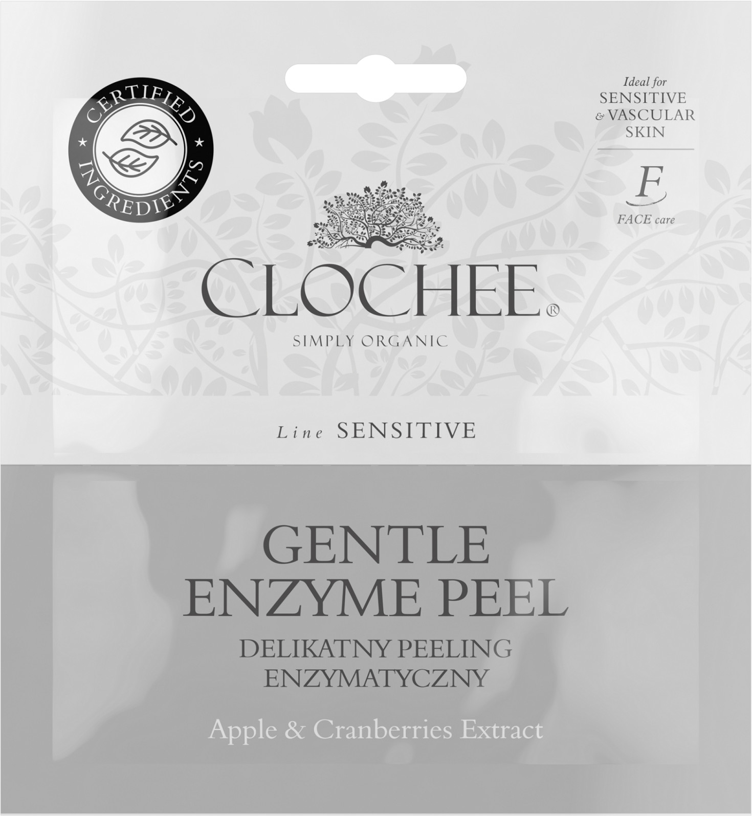 Clochee Delikatny peeling enzymatyczny - 2x6 ml -