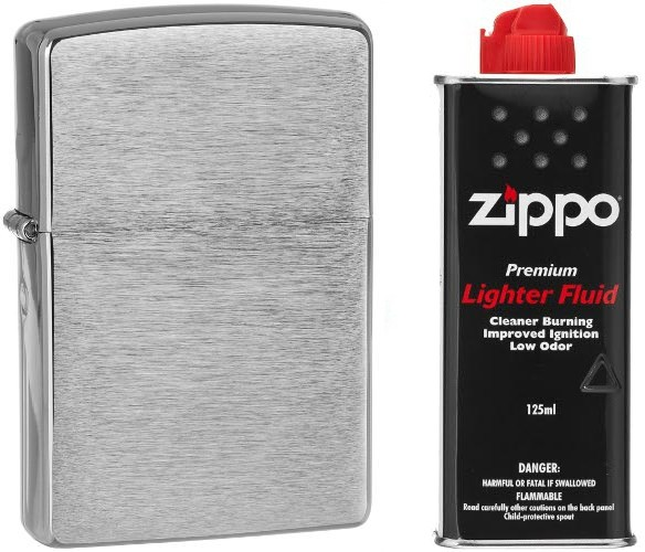 Zippo [Zestaw] 200 + Benzyna 125ml