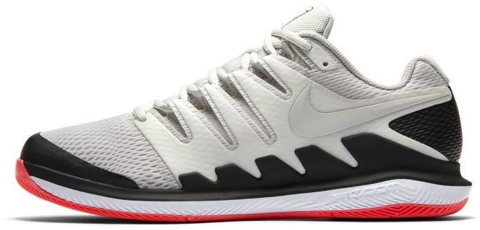 Nike Męskie buty do tenisa na twarde korty NikeCourt Air Zoom Vapor X - Kremowy