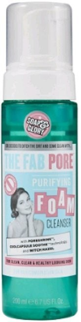 Nacomi Soap&Glory The Fab Pore Foam Cleanser pianka do mycia twarzy 200ml 55345-uniw