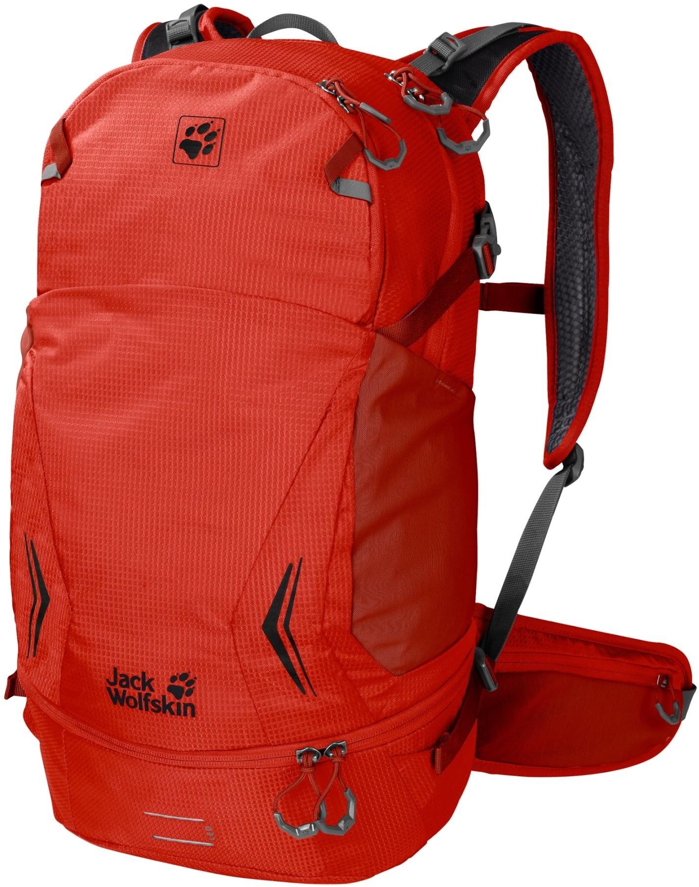 Jack Wolfskin Plecak sportowy MOAB JAM 30 lava red apm_2008521-2066