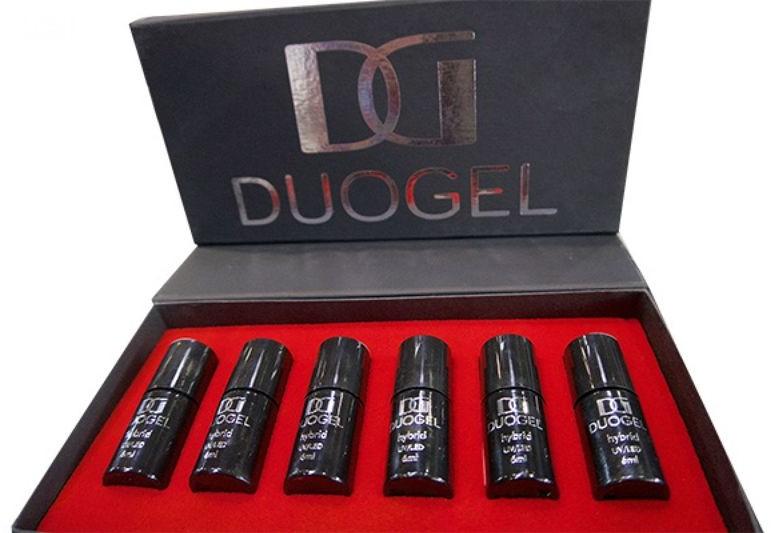 DUOGEL DUOGEL Black Box - lakier hybrydowy 6ml - 6szt 9888-uniw