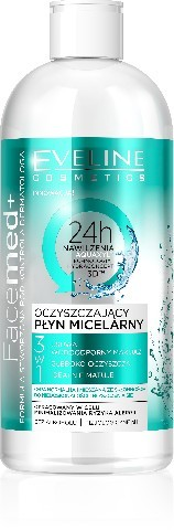 Eveline Facemed+ Oczyszczający Płyn micelarny 3w1 400ml
