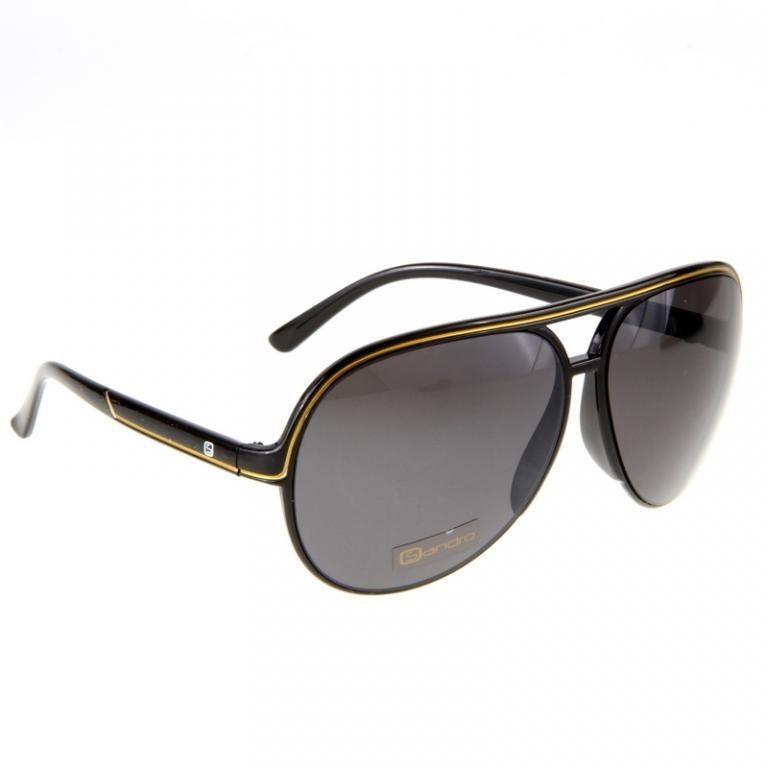 Okulary Sandro Sky Captian R9P537 Czarno Złote