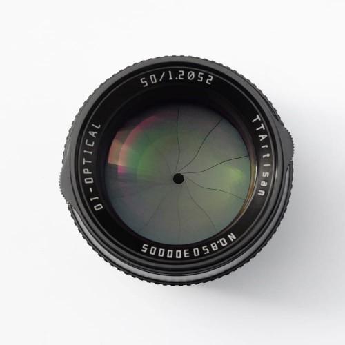 TTArtisan 50mm F/1.2 M43