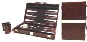 Unbekannt tryktrak walizka brązowy kunsl Eder.46x 30cm.