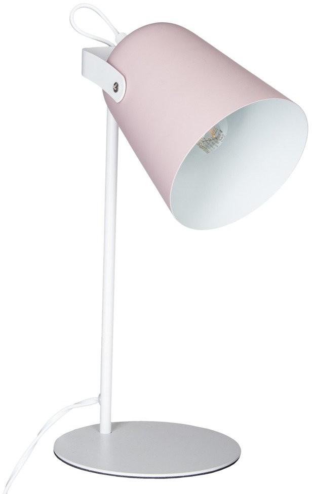 Atmosphera Lampka do czytania biurkowa z metalu nowoczesna w kolorze różowym B07D4NRSYW