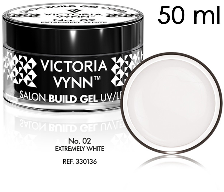Victoria Vynn SALON BUILD GEL - Żel budujący Victoria Vynn - Extremely White No. 02 - 50ml 330136-victoria-vynn